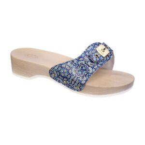 Scholl Pescura Heel Sandals - Blue/Multi
