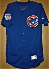 CHICAGO CUBS BRANDON MORROW 2018 ROYAL BLUE BUTTON-DOWN MLB JERSEY