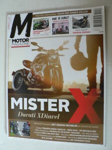 MO1602-KEES VAN DER VEN MX CROSS,DUCATI XDIAVAL,YAMAHA MT-09,MV BRUTALE 800,ZX-1