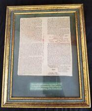 Massachusetts Currency Legislation 1781 Revolutionary War Veterans John Hancock