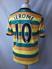 Authentic Norwich City 2015 16 3rd Away Match Shirt PLAYER ISSUE JEROME 10  Large 755a7c44c