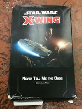 Never Tell Me the Odds Obstacles Pack Star Wars: X-Wing 2.0 FFG NEW