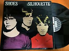 DISCO LP - THE SHOES - SILHOUETTE - NEW ROSE RECORDS FRA 1984 -EX/EX