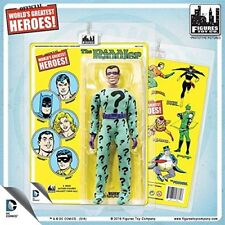 D C comics 8 inch action figure retro mego like card riddler limited edition 100