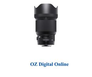 New Sigma 85mm F1.4 DG HSM | Art (Canon) Lens 1 Year Au Warranty