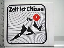 Autocollant sticker Citizen-Montres-temps-chronomètre (6454)