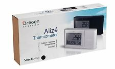Oregon Scientific Alizé Weather Station Clock Ice Alert In & Outdoor Temperature