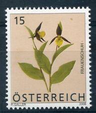 Austria 2008 15c flower stamp mint