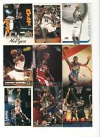 Antonio McDyess Rookie Card and singles Lot x 13, 1995-2002 Denver Nuggets,Suns
