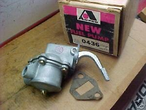 56-58 MORGAN 60-63 ENGLISH FORD  FUEL PUMP NEW