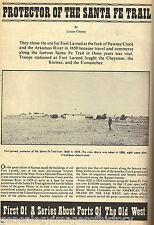 FORT LARNED, KANSAS - PROTECTOR OF THE SANTA FE TRAIL