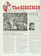 """SF 49er Newsletter,""""The Diggings"""", May 1968"""
