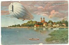 Zeppelin, Graf Zeppelin über Friedrichshafen, 1909