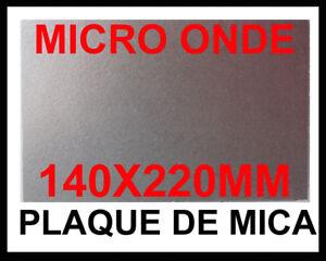 Sheet Mica 140x220 mm Mica Cut thru for Micro Wave Ep 0,4