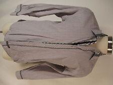 English Laundry Blaque Label Mens Brown Stripe Long Sleeve Cotton Shirt L