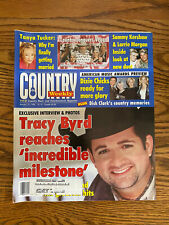 Vintage Country Music Weekly Magazine January 1999 Tracy Byrd Magazine