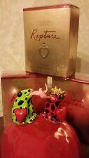 *Rare*Victoria Secret RAPTURE  1.7 oz Cologne Spray Romantic Heart Shape Bottle