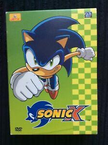 Sonic X volumes 5 6 7 8 box set ( French Region 2 no English subtitles )