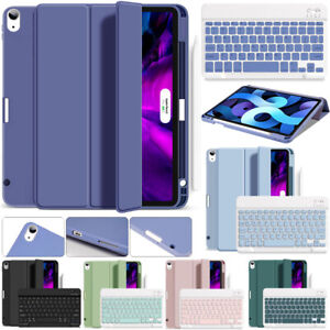 """For iPad Pro 12.9"""" 4th Gen 2020 Air 4 Slim Case Cover with Bluetooth Keyboard AU"""