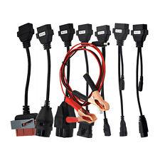 8 Car Cables OBD Kit For Delphi Autocom VCI TCS OBD2 PSA FIAT OPEL BMW AUDI Benz