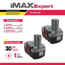 2 x 18V Extended Ni-Mh 3.0Ah Battery for Bosch Bat025, Bat026, Bat160, Bat180,