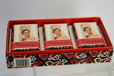VINTAGE BOXED Set of 3 Bars of Talisman Soap_Jabon_Savon_Spain_3 oz ea._90 Grams