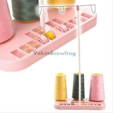 Sewing Machine Adjustable Embroidery 3 Thread Spools Holder Stand Rack Hobbin VF