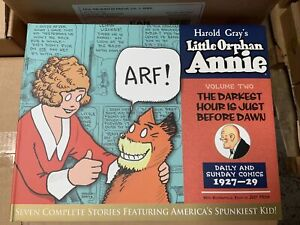 IDW LITTLE ORPHAN ANNIE, VOL. 2: 1927 - 1929 : HARDCOVER : NEW CONDITION : LOAC