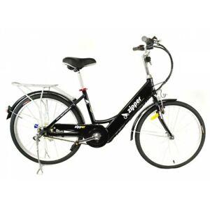 "Electric Bike - Zipper Z5 City Deluxe e-bike 24"" Tyres Lithium Battery"