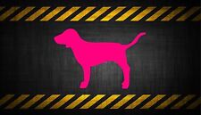Victoria Secret Pink Dog 5'' vinyl car sticker decal l buy 1 get 1 free