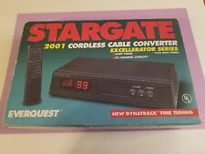 Stargate 2001 Cordless Cable Converter Excellerator Series