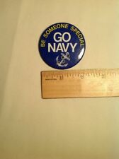 Be Someone Special Go Navy Navy Button Vintage