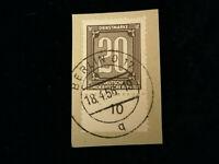 Deutschland DDR ,Dienstmarken ZKD 1956 - MiNr. 3  BS  20 (Pf) mit UR