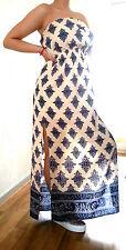 NEU*AMISU*(New Yorker) Modisches Sommerkleid Maxikleid Kleid Gr.S/36 rose/blue