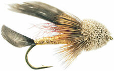 Fly Fishing Flies (Bass, Bream, Trout, Salmon, Perch) Muddler Minnow (6 flies)
