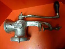 Vintage GRISWOLD #2 Meat Grinder/Chopper Model 1742,Blade+3 Plates.Well kept USA