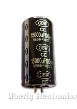 NEW 15000uF - 100V ELECTROLYTIC CAPACITOR 70x35mm