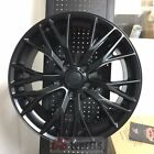 1819 Z06 Zo6 Style Satin Black Wheels Rims Fits 2005-2013 Corvette C6 Base