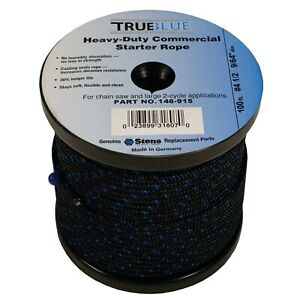 New Stens 100' Starter Rope 146-915 for #4 1/2 Solid Braid