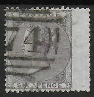 SG69.  6d.Deep Lilac. FU Wing Margin Example. Cat.£140.  Ref:0813