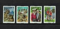 AUSTRALIA DECIMAL...2010 KOKODA.....SET OF 4 STAMPS...GOOD USED
