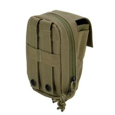 3V Gear MOLLE Tech Pouch OD Olive Drab Green for Cell Phone, GPS, Mp3 Player etc