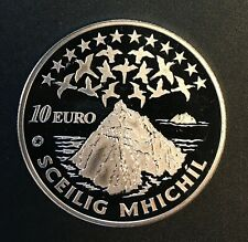 Ireland - Silver 10 Euro Coin - 'Skellig Michael' - 2008 - Proof