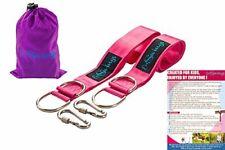 Tree Swing Hanger Straps Kit 5 Feet Long Holds 2200lb Durable Seat Belt Material