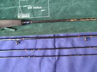 Bob Church Fly Fishing Rod 4 Piece. ( 8ft ) # 5/6 Traveller Trout Fly Rod