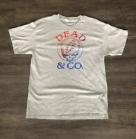 Official Dead and Company Summer Tour 2019 T Shirt Grateful Dead Size L New