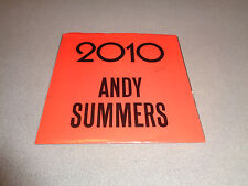 """Andy Summers – 2010 - A&M 7"""" Vinyl 45 -  PS - 1984 - The Police - NM-"""