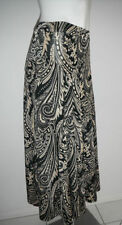 Polyester Machine Washable Paisley A-Line Skirts for Women