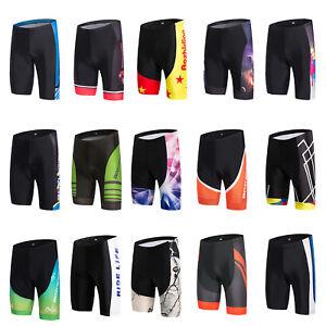 Men's Cycling Shorts Knicks Padded Bike Bicycle Cycle Shorts Tight Coolmax S-5XL