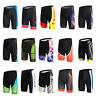 Men's Cycling Shorts Knicks Padded Bike Bicycle Cycle Shorts Tight Coolmax S-5XL